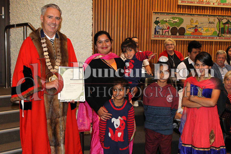 Citizenship Ceremony 15/3/17