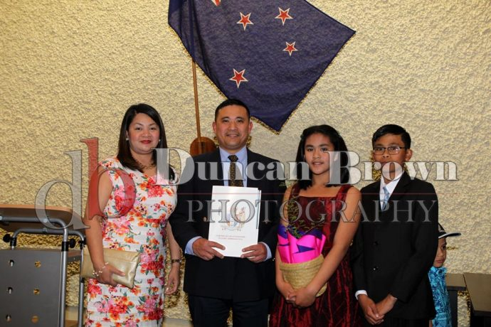 Photographs from Citizenship Ceremony 18 October 2017