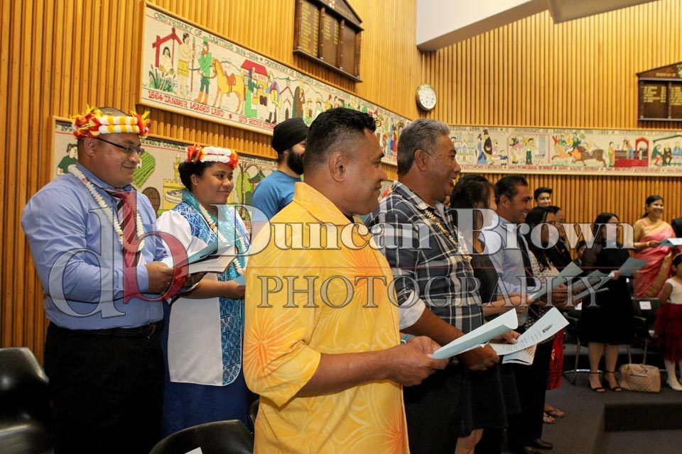 Citizenship Ceremony Photographs