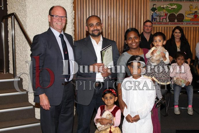 Photos from Citizenship Ceremony 5 Sept 2018