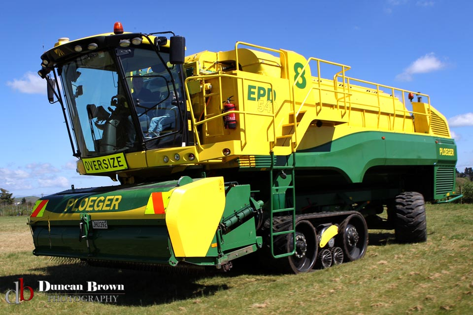 Tasman Harvester Contrators Photos