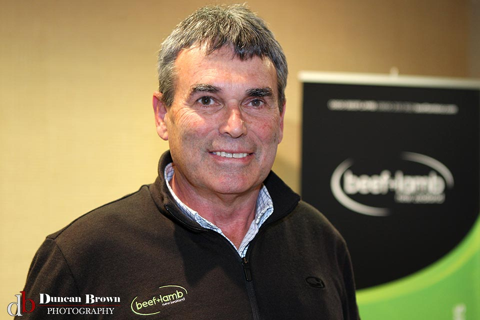 Mark Harris from Beef + Lamb NZ