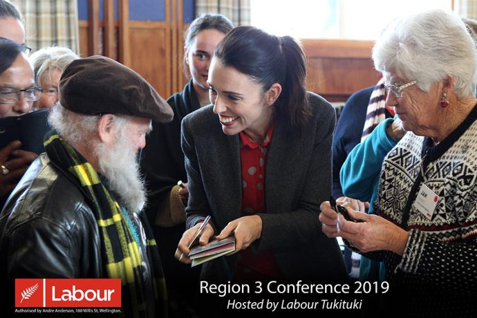 Jacinda Ardern, Labour Party Region 3 Conference