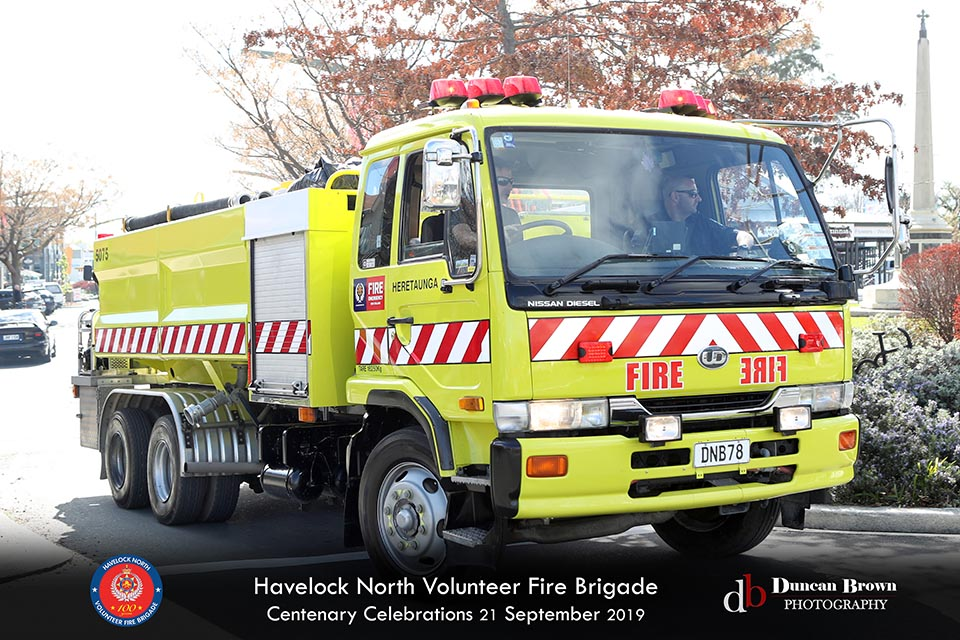 Havelock North Volunteer Fire Brigade Centenary Photos