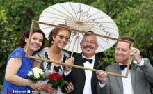 Fun Garden Wedding Photos